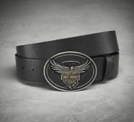 Harley-Davidson® Men's 115th Anniversary Belt & Eagle Buckle 99412-18VM