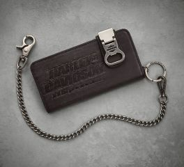 Harley-Davidson® Men's 115th Anniversary Biker Wallet with Bottle Opener 99413-18VM