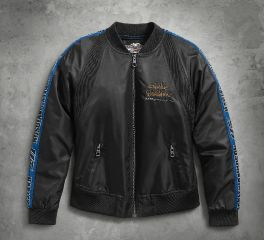 Harley-Davidson® Women's 115th Anniversary Bomber Jacket 98586-18VW