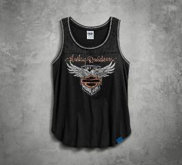 Harley-Davidson® Women's 115th Anniversary Mesh Inset Tank 99039-18VW