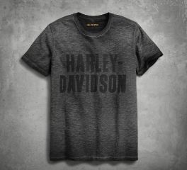 Harley-Davidson® Men's Jersey Appliqué Logo Slim Fit Tee 99019-18VM