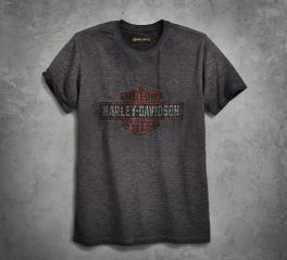 Harley-Davidson® Men's Logo Overprint Slim Fit Tee 99025-18VM