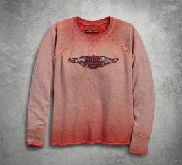 Harley-Davidson® Women's Wing Logo Raglan Pullover 99037-18VW