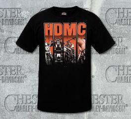 Men's Black HDMC Short Sleeve Tee R002431