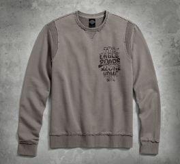 Raw-Edge Pullover Sweatshirt 96639-17VM