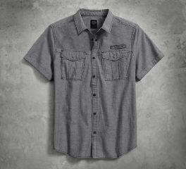 Double Pocket Denim Shirt 96645-17VM