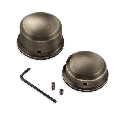 Harley-Davidson® Brass Rear Axle Nut Covers 43000050