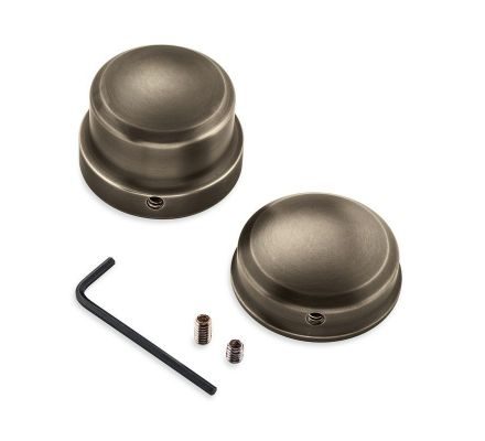 Harley-Davidson® Brass Rear Axle Nut Covers 43000057