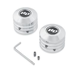 Harley-Davidson® Defiance Front Axle Nut Covers 43000062