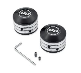Harley-Davidson® Defiance Front Axle Nut Covers 43000064