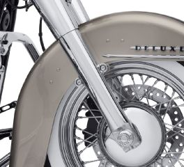 Harley-Davidson® Chrome Lower Fork Sliders 45500400