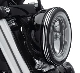 Harley-Davidson® Defiance Headlamp Trim Ring 61400430