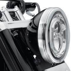 Harley-Davidson® Defiance Headlamp Trim Ring 61400432