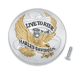 Harley-Davidson® Live To Ride Air Cleaner Trim 61400455