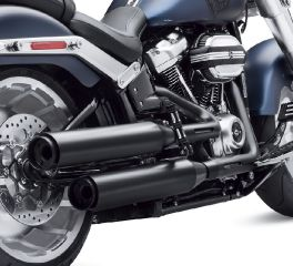 Harley-Davidson® Satin Black Exhaust Shield Kit 65400460