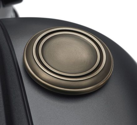 Harley-Davidson® Brass Fuel Cap 61100076