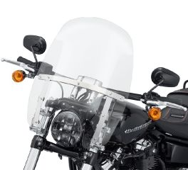 Harley-Davidson® Wind Splitter Quick-Release Compact 18 in. Windshield 57400326
