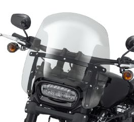 Harley-Davidson® Wind Splitter H-D Detachable Compact 15 in. Windshield 57400330