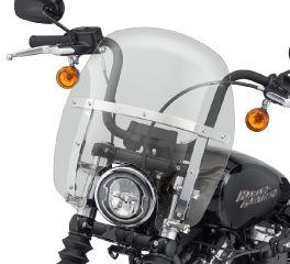 Harley-Davidson® Wind Splitter Quick-Release Compact 14 in. Windshield 57400331