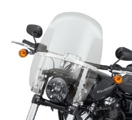 Harley-Davidson® Wind Splitter Quick-Release Compact 18 in. Windshield 57400333