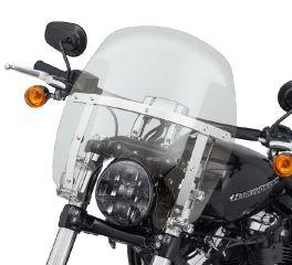 Harley-Davidson® Wind Splitter Quick-Release Compact 14 in. Windshield 57400336