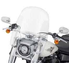 Harley-Davidson® Wind Splitter Detachable Compact 19 in. Windshield 57400368