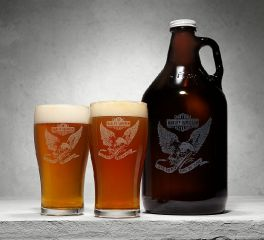 Growler & Pint Glasses 96925-18V