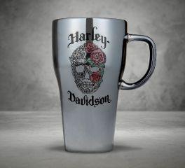 Harley-Davidson® Metallic Ceramic Latte Mug 96897-18V