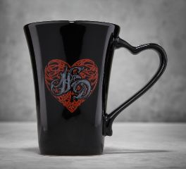 Harley-Davidson® Scroll Heart Ceramic Coffee Mug 96866-16V