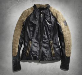 Harley-Davidson® Women's Endeavor Leather Jacket 97088-16VW