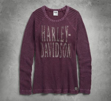 Harley-Davidson® Women's Loose Weave Sweater 96071-18VW