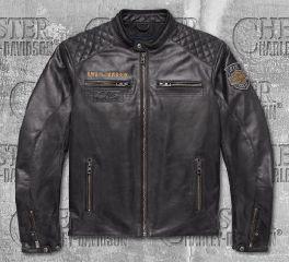 Harley-Davidson® 115th Anniversary Eagle CE-Certified Leather Jacket 98006-18EM