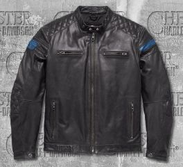 Harley-Davidson® 115th Anniversary Eagle CE-Certified Leather Jacket 98002-18EM