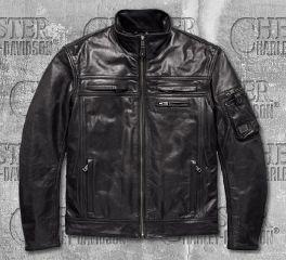 Harley-Davidson® Authority Waterproof Leather Riding Jacket 97197-18EM
