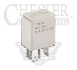 Harley-Davidson® Micro SPDT Starter Relay with Diode 31522-00C