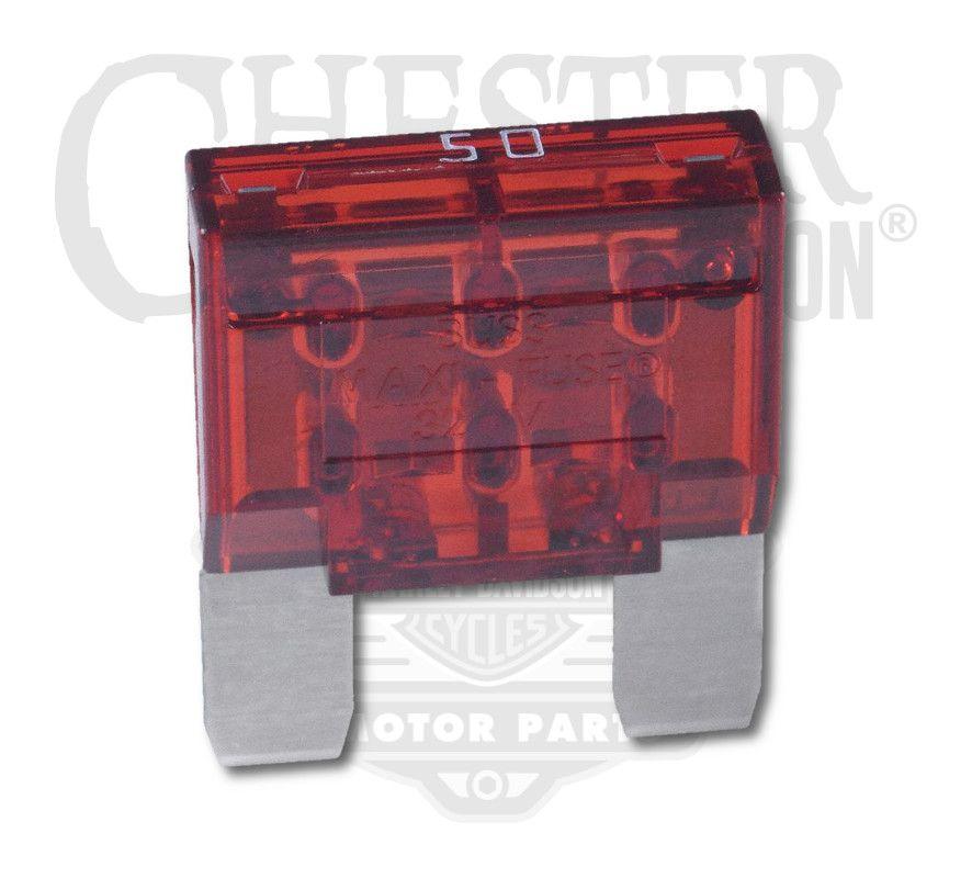 Harley-Davidson® 50 AMP Maxi Blade Fuse on