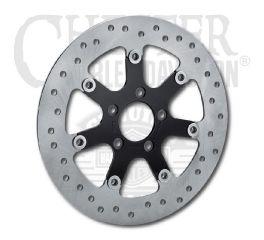 Harley-Davidson® Turbine Black Brake Rotor 41500150