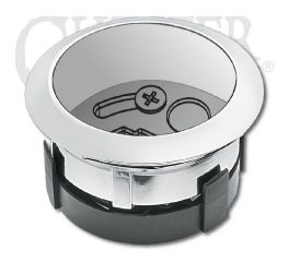 Harley-Davidson® Chrome Gauge Housing 63038-06