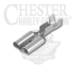 """Harley-Davidson® .25"""" Female Spade Terminal, 16-12 Gauge 72429-00"""
