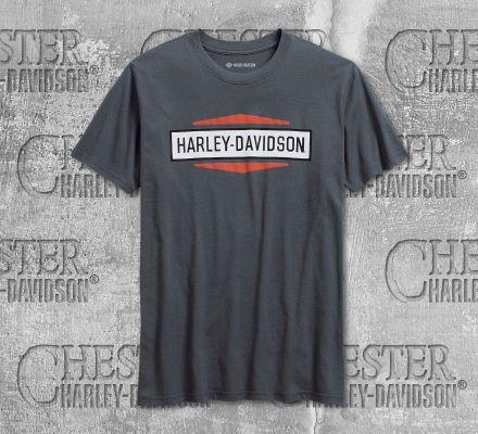 Harley-Davidson® Men's Stacked Graphic Slim Fit Short Sleeve Tee 99078-18VM