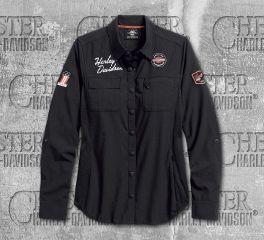 Harley-Davidson® Women's Performance Fast Dry Vented Classic Shirt 99076-18VW