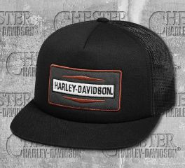 Harley-Davidson® Men's Stacked Graphic Foam Trucker Cap 99423-18VM