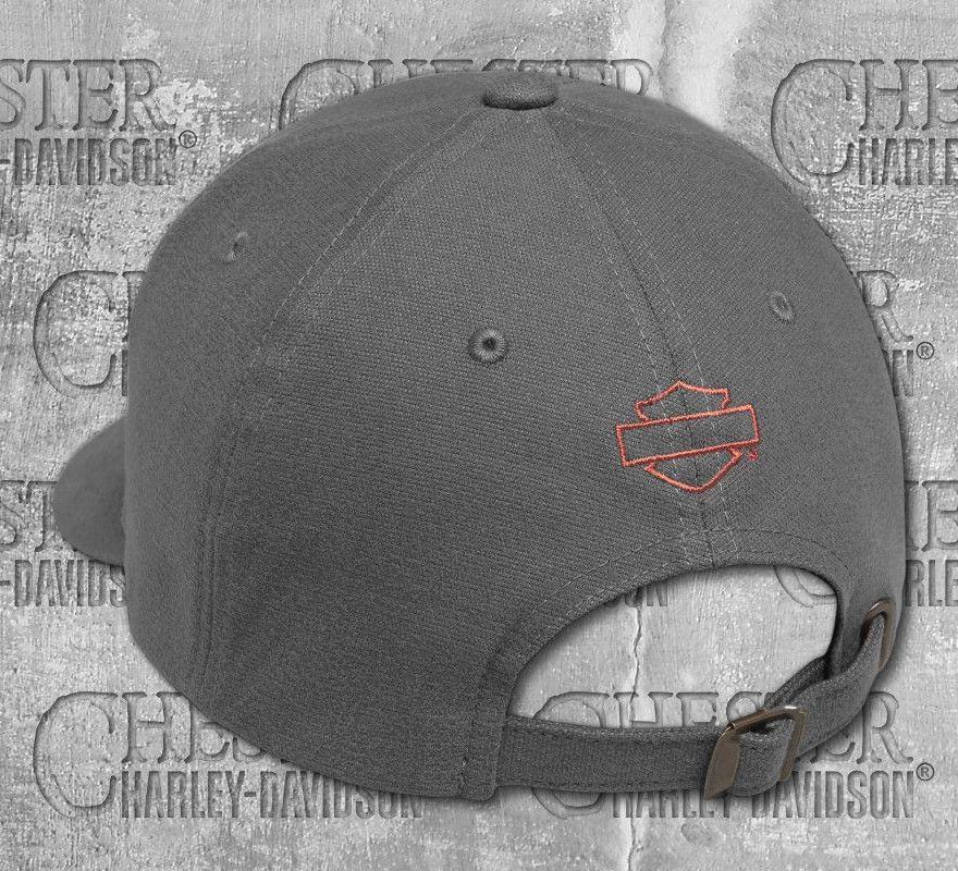 166e81885 ... Harley-Davidson® Men's Castlerock Genuine Logo Patch Cap 99435-18VM