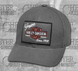 Harley-Davidson® Men's Castlerock Genuine Logo Patch Cap 99435-18VM