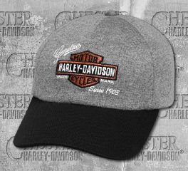 Harley-Davidson® Women's Embroidered Logo Jersey Cap 99447-18VW