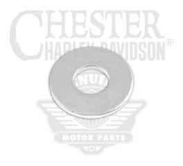 """Harley-Davidson® Flat Washer 13/32"""" x 13/16"""" X 1/16"""" Chrome (3/8"""") 94067-90T"""