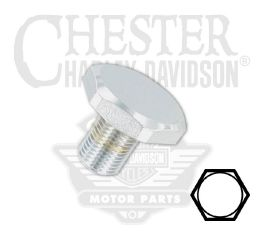 Harley-Davidson® Upper Fork Bracket Bolt (Chrome) 45419-80