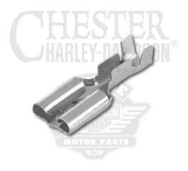 """Harley-Davidson® .25"""" Female Spade Terminal, 18-14 Gauge 9937"""
