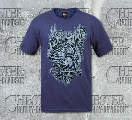 Harley-Davidson® Men's Lets Ride Short Sleeve Tee, RK Stratman Inc. R002601