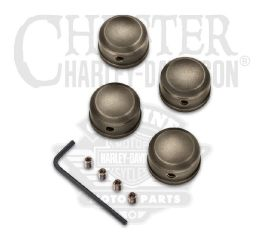 Harley-Davidson® Brass Headbolt Covers 61400335